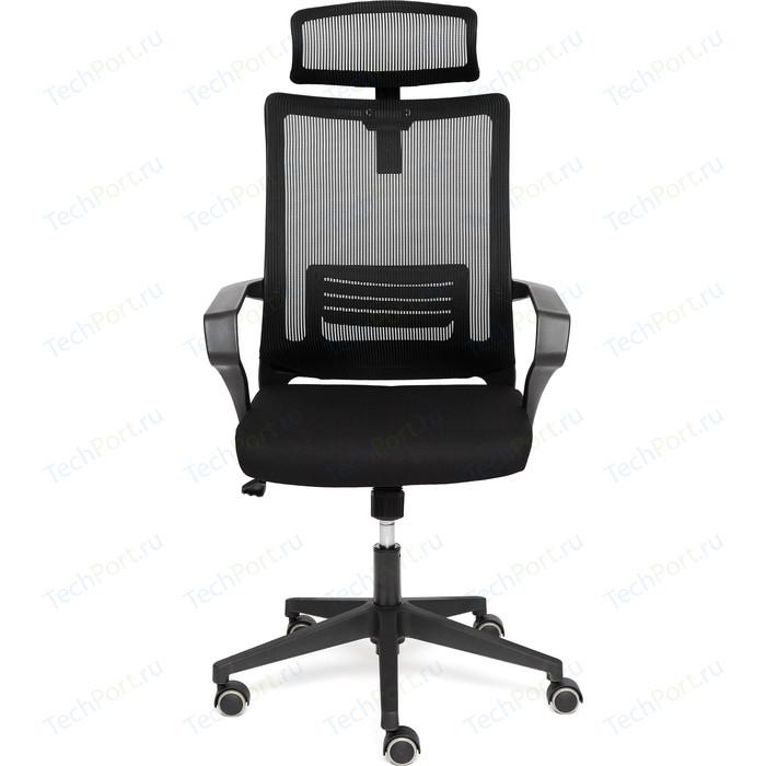 Кресло TetChair Mesh-4HR ткань черный