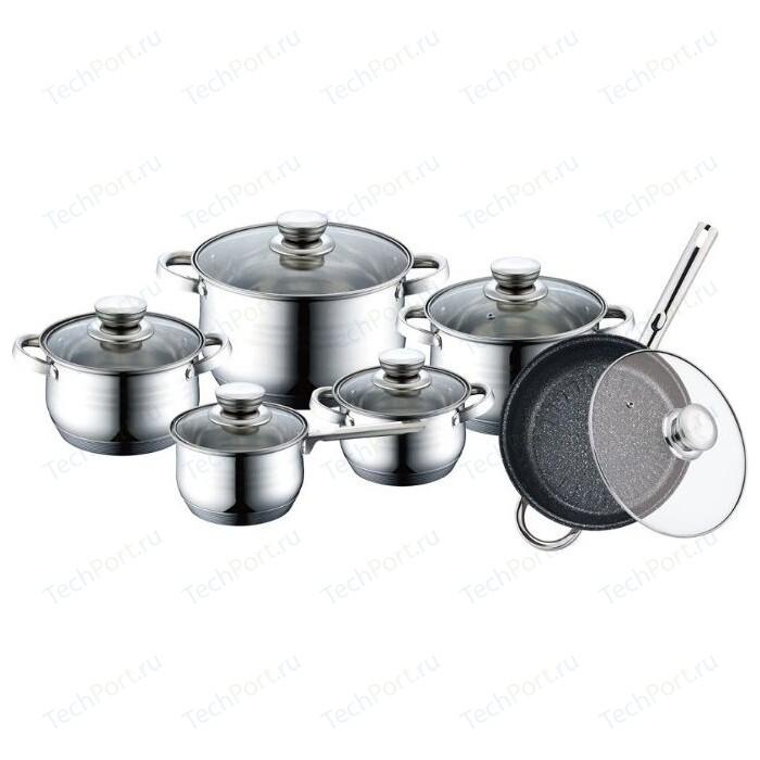 Набор посуды 12 предметов Bekker BK-1755