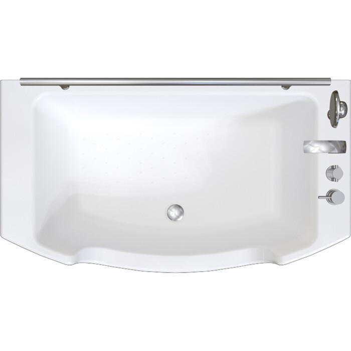 Акриловая ванна Radomir Чарли 120x69 с каркасом, слив-перелив (0-01-0-0-1-990)