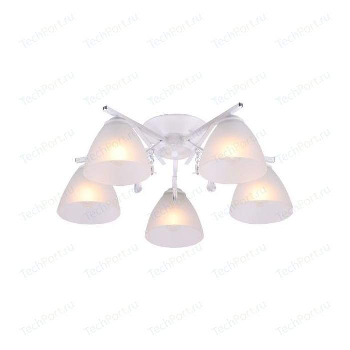 Люстра потолочная Imex MD.7600-5-S WH 5*60Вт E27