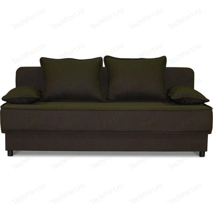 Диван прямой Шарм-Дизайн Уют шоколад диван прямой шарм дизайн уют латте