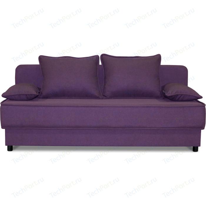 Диван прямой Шарм-Дизайн Уют фиолетовый диван прямой шарм дизайн уют латте