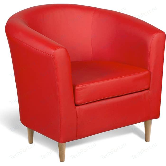 Кресло Шарм-Дизайн Евро лайт экокожа красный