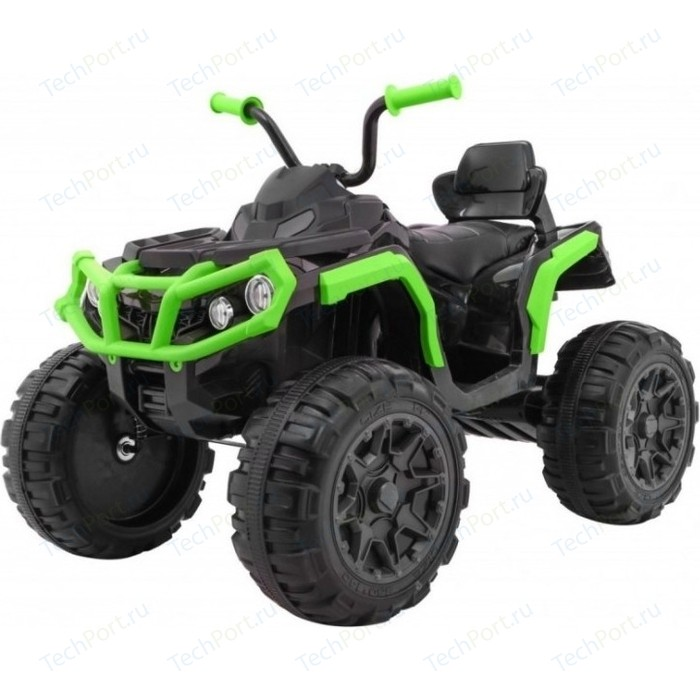 Детский квадроцикл BDM Grizzly ATV 4WD Green/Black 12V с пультом управления - BDM0906-4