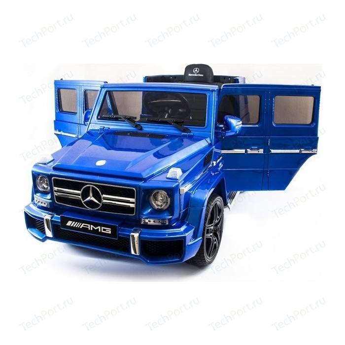Детский электромобиль Harley Bella Mercedes Benz G63 LUXURY 2.4G - Blue HL168-LUX