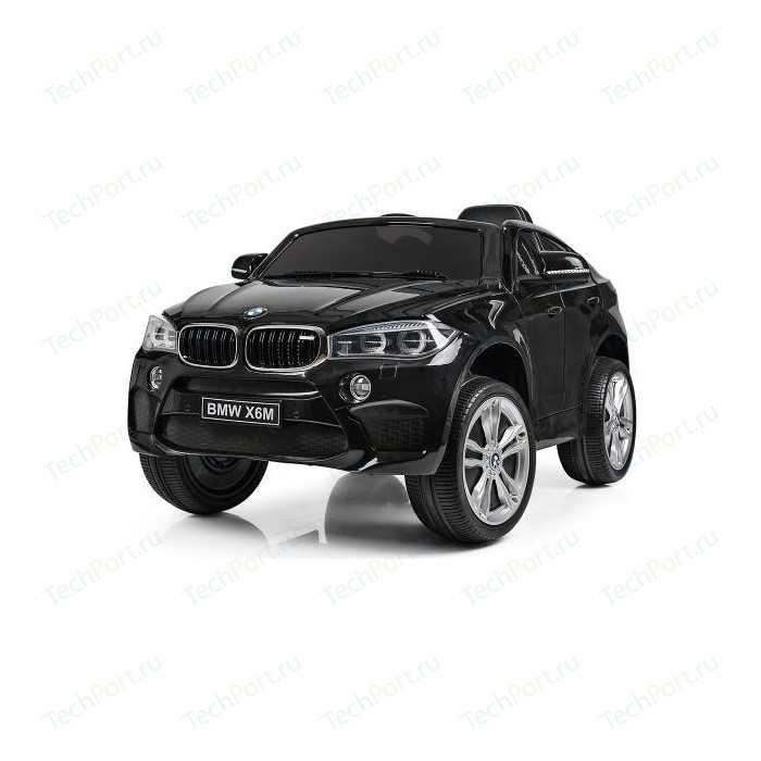 Детский электромобиль Jiajia BMW X6M Black - JJ2199