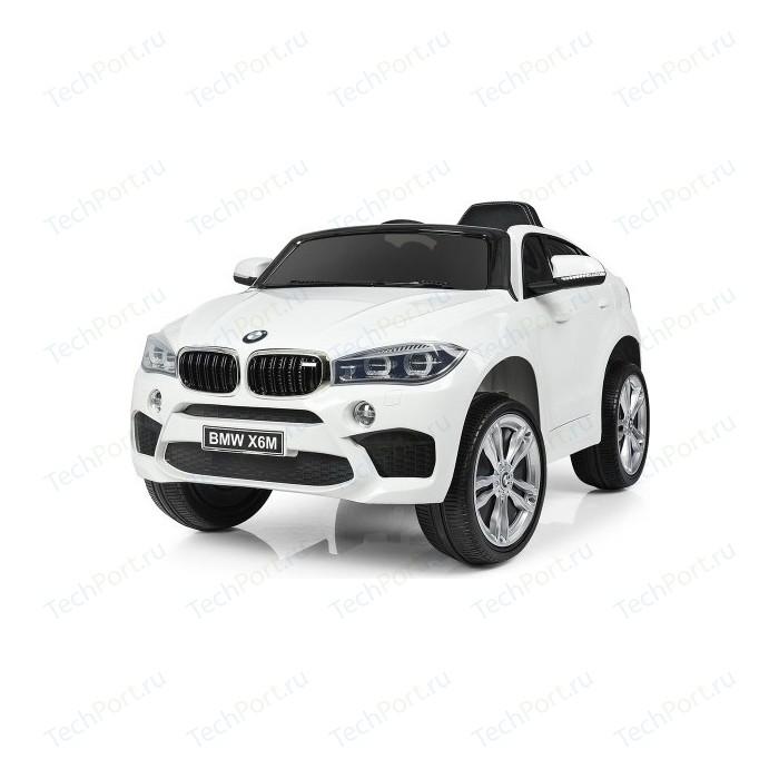 Детский электромобиль Jiajia BMW X6M White - JJ2199