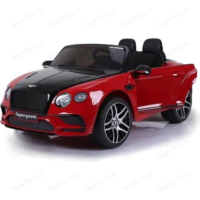 Электромобиль Jiajia Bentley Continental Supersports Red 12V - JE1155 машины bburago машина для сборки bentley continental supersports convrtible isr