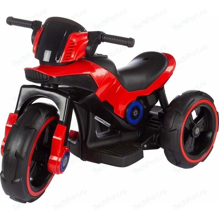 Детский мотоцикл на аккумуляторе Y QIKE Y-MAXI Police Red - SW198A-RED