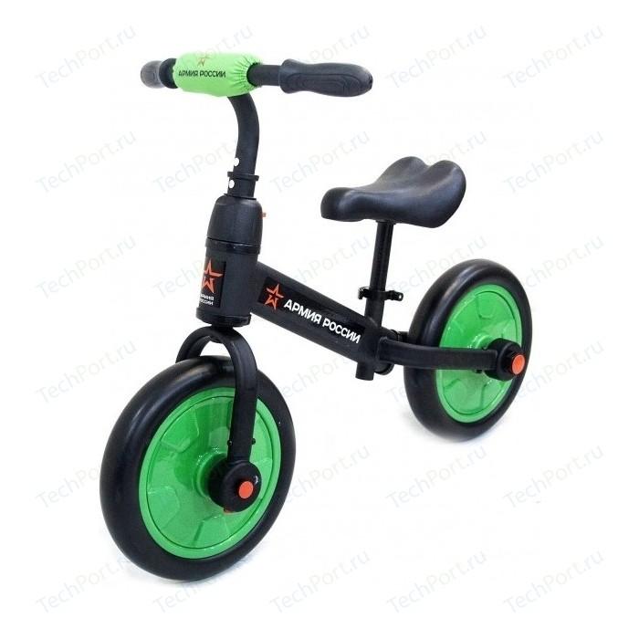 Детский беговел/велосипед Армия России Тактический (зеленый) - АР-03002