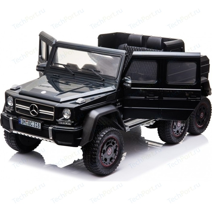 Детский электромобиль Dongma Mercedes-Benz G63 AMG Black 4WD - DMD-318-BLACK-PAINT