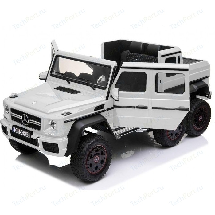 Детский электромобиль Dongma Mercedes-Benz G63 AMG White 4WD - DMD-318-WHITE