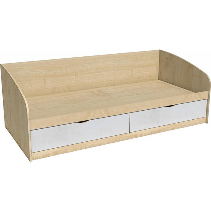 Кровать Сильва НМ 008.63 фанк клен танзанский/белый кровать сильва нм 008 63 фанк клен танзанский белый