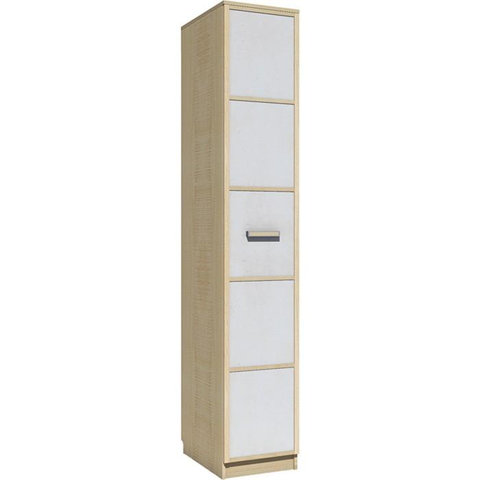 Шкаф для одежды Сильва НМ 013.01-03 фанк клен танзанский/белый кровать сильва нм 008 63 фанк клен танзанский белый