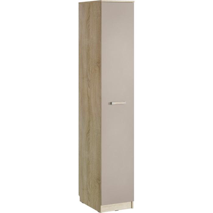 Шкаф для одежды Сильва НМ 013.01-03 акварель дуб сонома/капучино