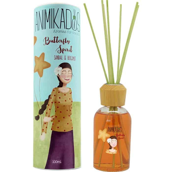Диффузор ароматический Ambientair Butterfly spirit animikados 100 мл