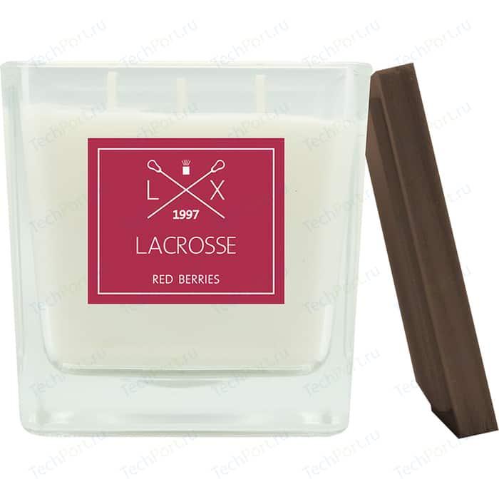 Свеча ароматическая в стекле Ambientair Красные ягоды 10*10 см