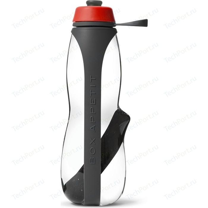 Эко-бутылка Black+Blum Eau good duo с фильтром серо - красная