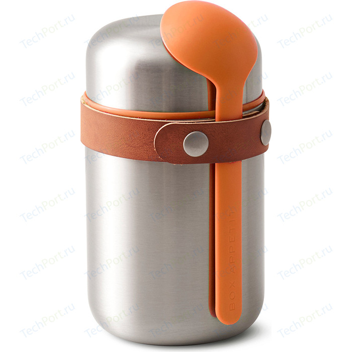 Термос Black+Blum Food flask оранжевый