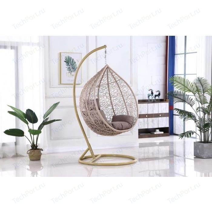 Подвесное кресло Afina garden AFM-169A-LB beige подвесное кресло afina garden afm 168a xl white green