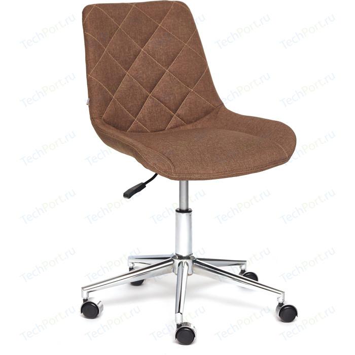 Кресло TetChair Style ткань коричневый F25