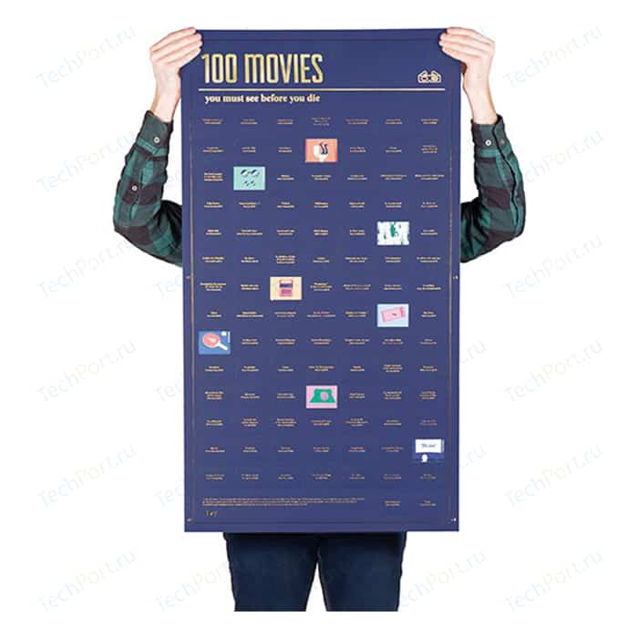 Постер Doiy 100 фильмов, которые нужно посмотреть прежде чем умереть