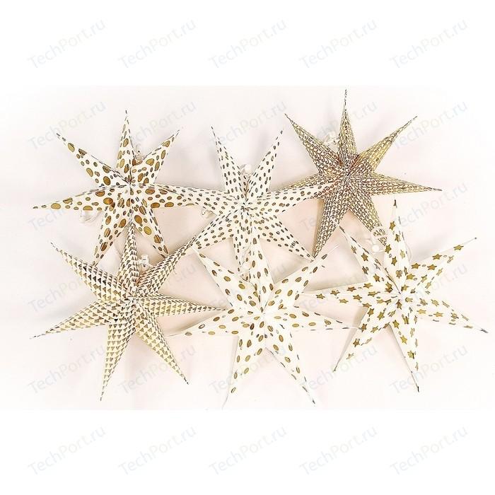 Набор декоративных елочных украшений EnjoyMe Stars, 6 шт.