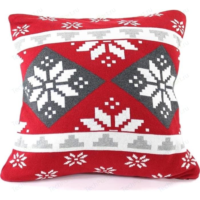 Подушка с орнаментом EnjoyMe Christmas story, 45х45 см