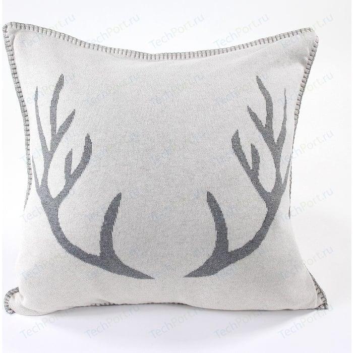 Подушка с орнаментом EnjoyMe Deer, 45х45 см