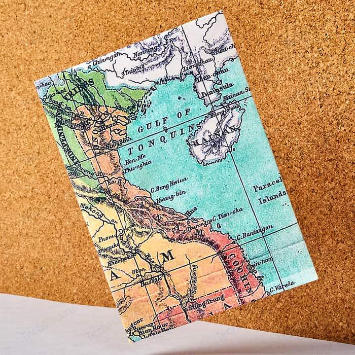Обложка на паспорт New Wallet voyager, tyvek