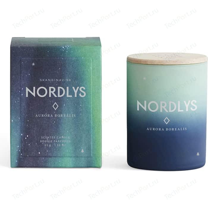 Свеча ароматическая SKANDINAVISK Nordlys с крышкой 55 г