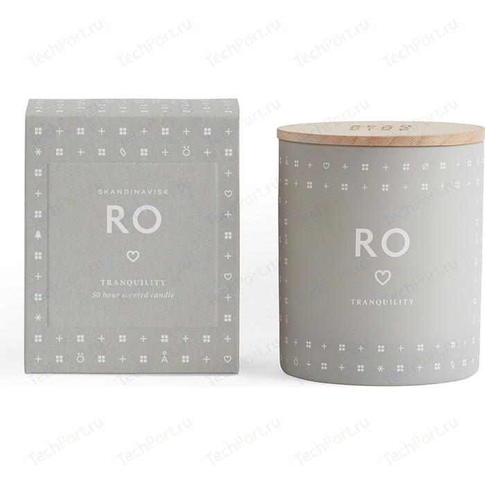 Свеча ароматическая SKANDINAVISK Ro с крышкой 190 г