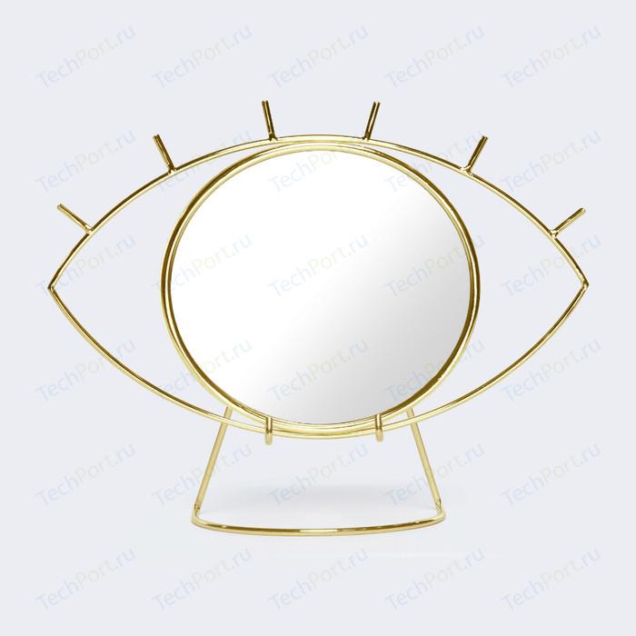 Зеркало настенное Doiy Cyclops золотое