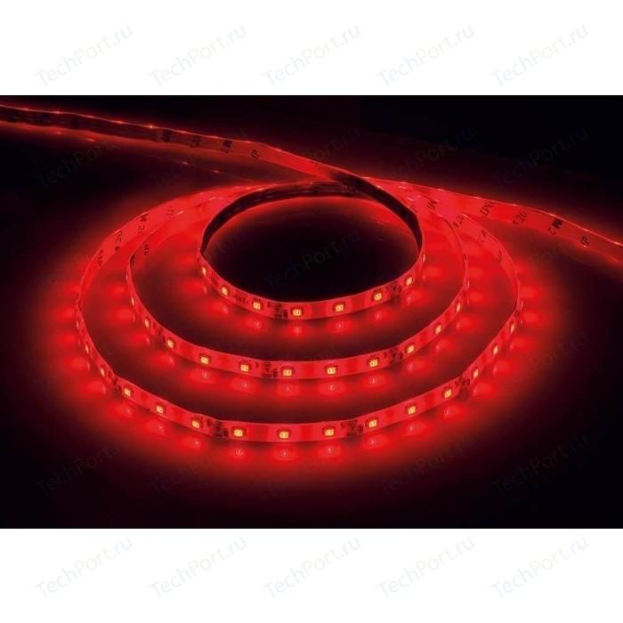 цена Светодиодная влагозащищенная лента Feron LS604 27676 4,8W/m 60LED/m 2835SMD красный 5M онлайн в 2017 году