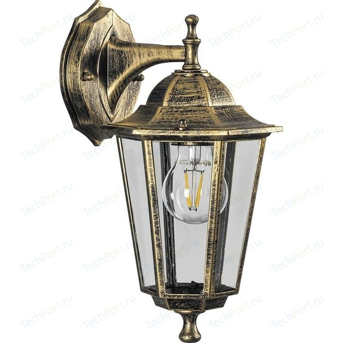 Уличный настенный светильник Feron 6102 11127