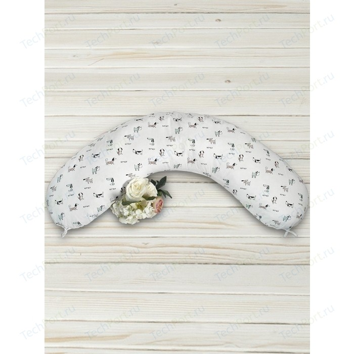 Подушка для беременных AmaroBaby Exclusive Original Collection 170х25 (Собачки)