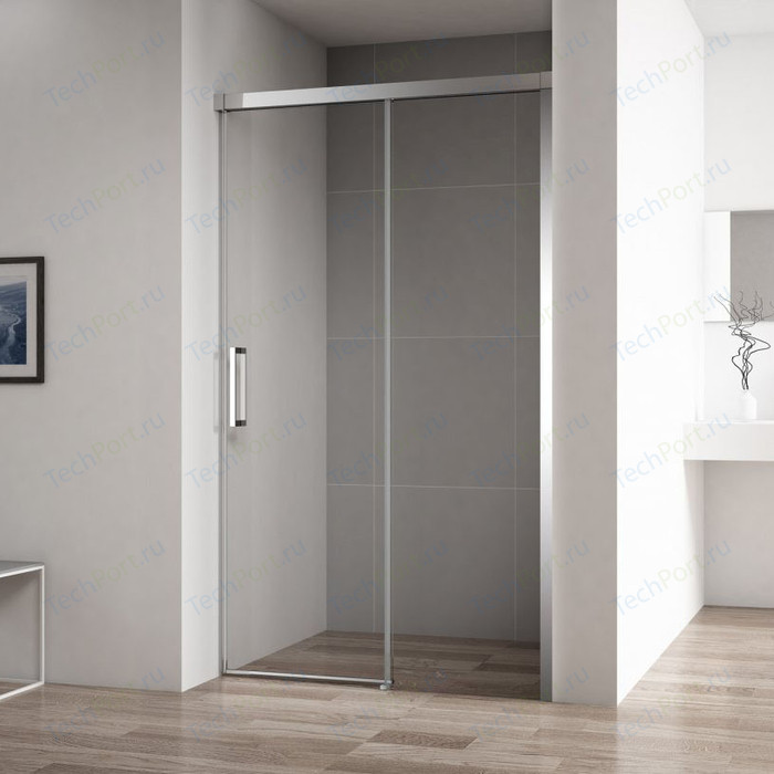 Душевая дверь Cezares Duet-Soft BF-1 R 100x195 правая, прозрачная, хром (DUET SOFT-BF-1-100-C-Cr-R)
