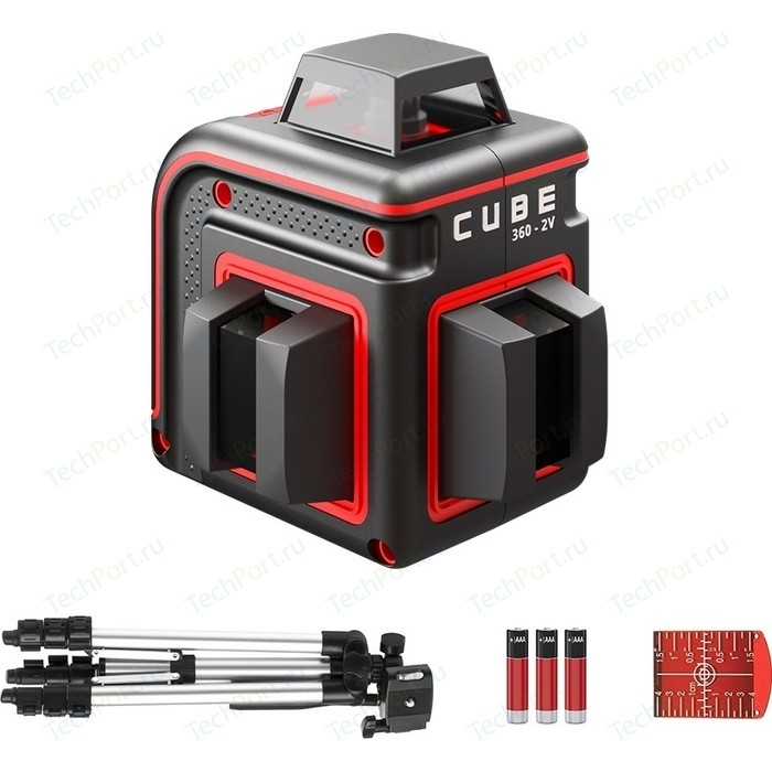 Построитель лазерных плоскостей ADA Cube 360-2V Professional Edition