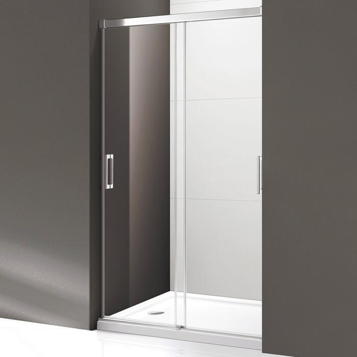 Душевая дверь Cezares Tandem-Soft BF-2 120x190 рифленая Punto, хром (TANDEM-SOFT-BF-2-120-P-Cr)