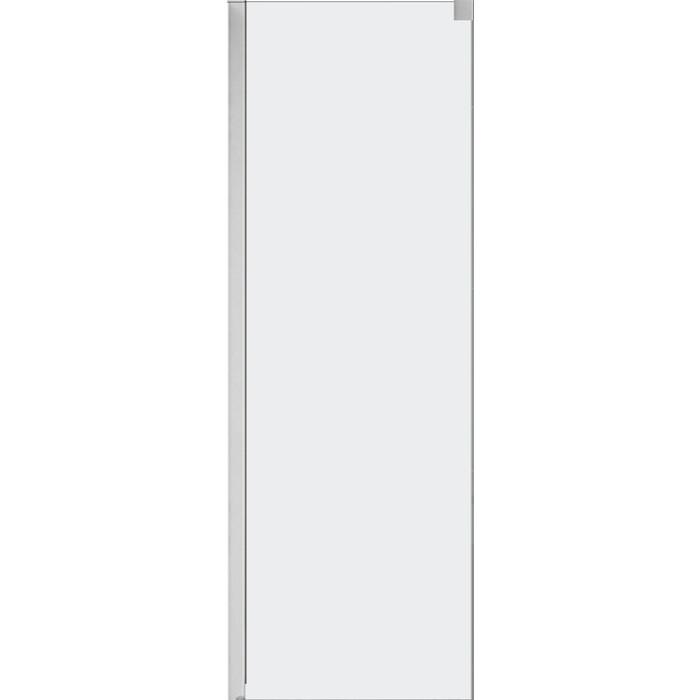 Универсальная боковая панель Cezares Tandem-Soft FIX 80x190 прозрачная, хром (TANDEM-SOFT-FIX-80-C-Cr-IV)