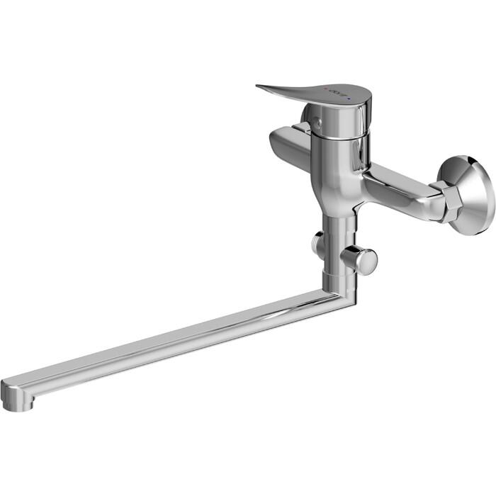 Смеситель для ванны Dorff Norma с душевым гарнитуром, хром (D1095000)