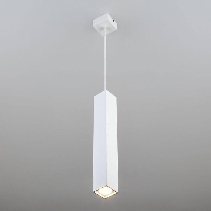 Подвесной светодиодный светильник Eurosvet Cant 50154/1 LED белый
