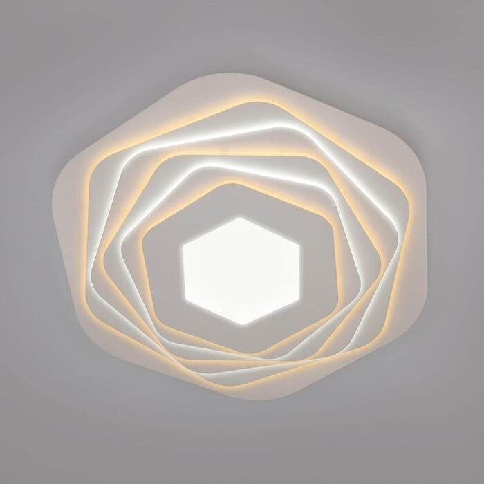 Потолочный светодиодный светильник Eurosvet Salient 90152/6 белый