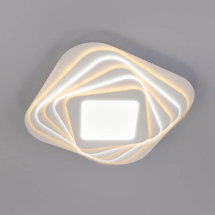 Потолочный светодиодный светильник Eurosvet Salient 90154/6 белый