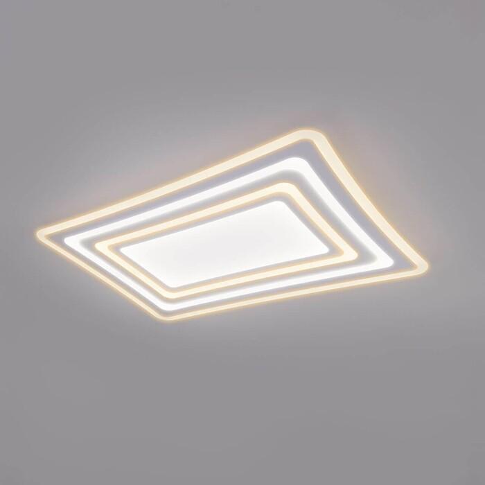 Потолочный светодиодный светильник Eurosvet Salient 90155/4 белый