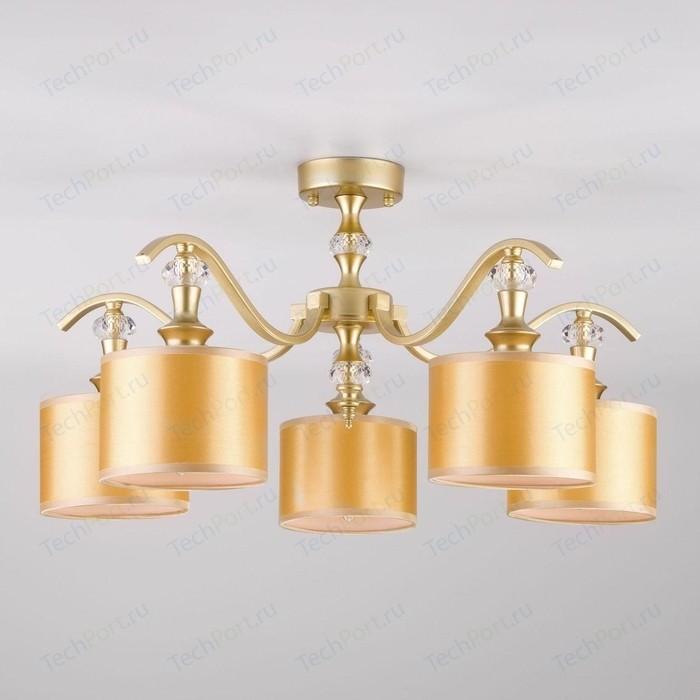 Фото - Потолочная люстра Eurosvet Ofelia 60070/5 перламутровое золото люстра eurosvet 60063 6 золото