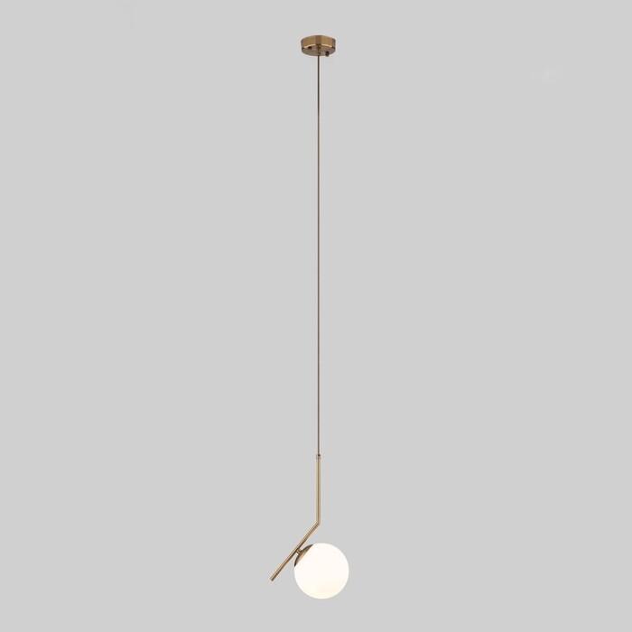 Подвесной светильник Eurosvet Frost Long 50159/1 латунь