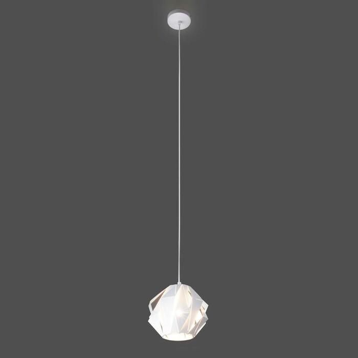 Подвесной светильник Eurosvet Moire Long 50157/1 белый