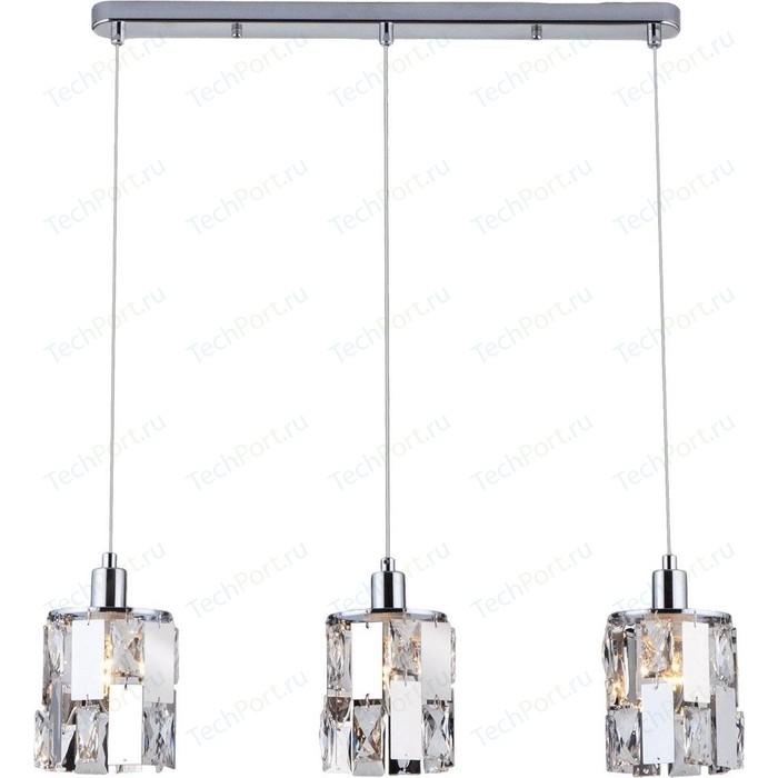 Подвесной светильник Eurosvet Scoppio 50101/3 хром