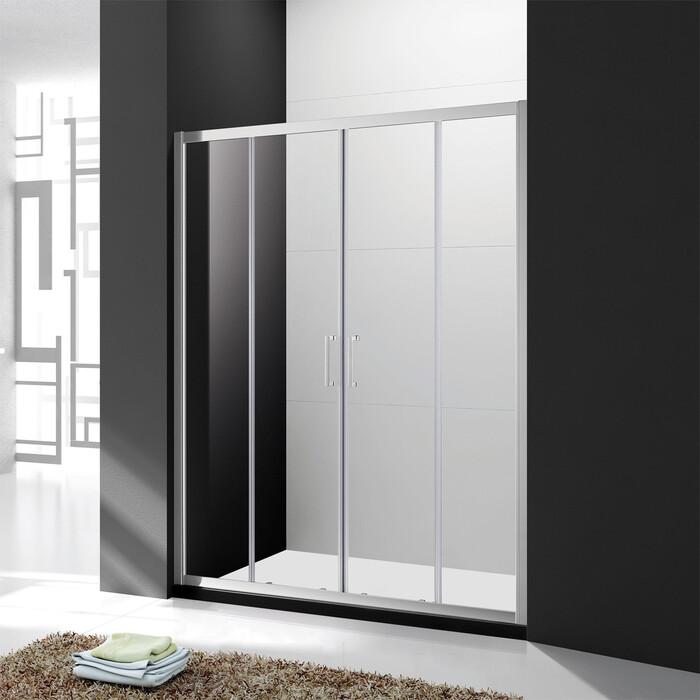 Душевая дверь Cezares Molveno BF-2 180x190 рифленая Punto, хром (MOLVENO-BF-2-180-P-Cr)
